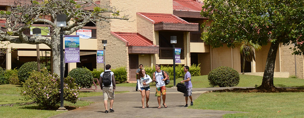 Students at campus