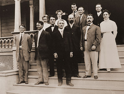 Group of faculty